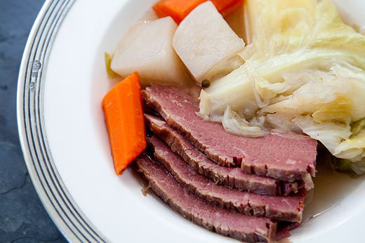 New England Boiled Dinner  301 Moved Permanently