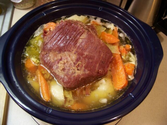New England Boiled Dinner  Crock Pot New England Boiled Dinner Recipe from CDKitchen