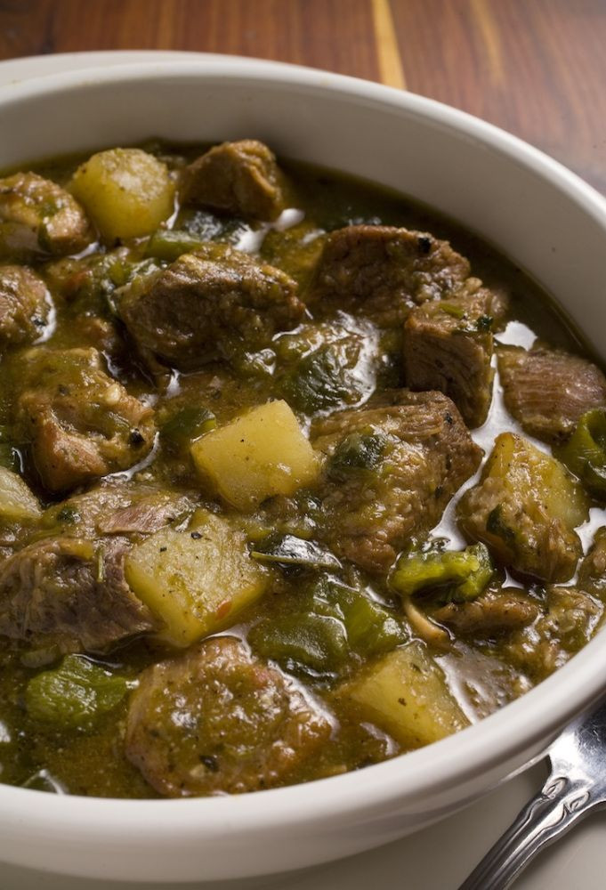 New Mexico Green Chile Stew  Crockpot Recipe For Pork And Green Chile Stew Nefi s