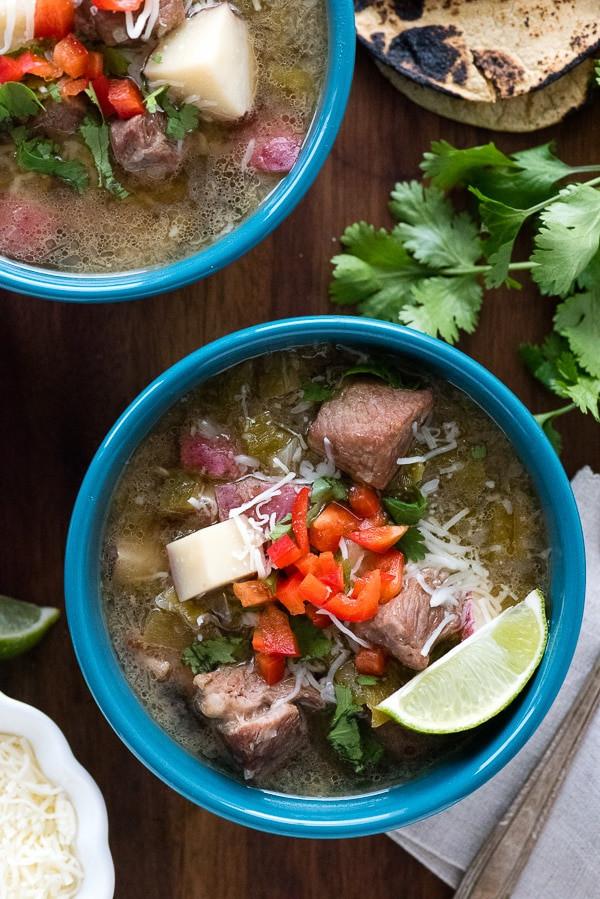 New Mexico Green Chile Stew  New Mexico Green Chile Stew Recipe