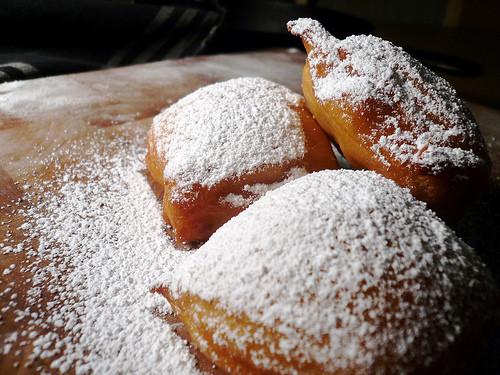 New Orleans Dessert Beignet  i love u blank Have you ever Beignet ed