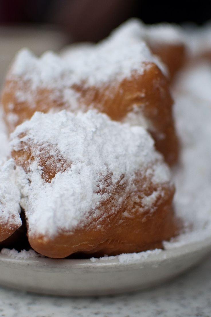 New Orleans Dessert Beignet  French Quarter Beignets Recipe Deep fried yeast dough