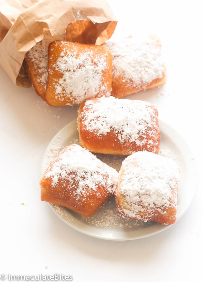 New Orleans Dessert Beignet  New Orleans Beignet Immaculate Bites