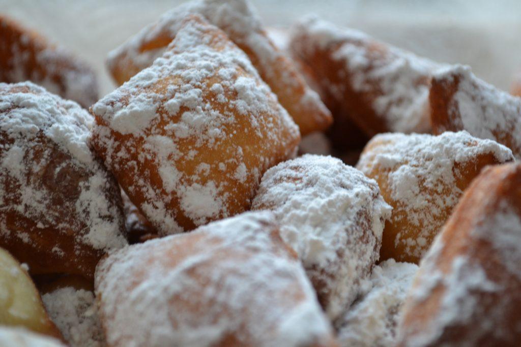 New Orleans Dessert Beignet  Beignet Fest Lafayette Hotel