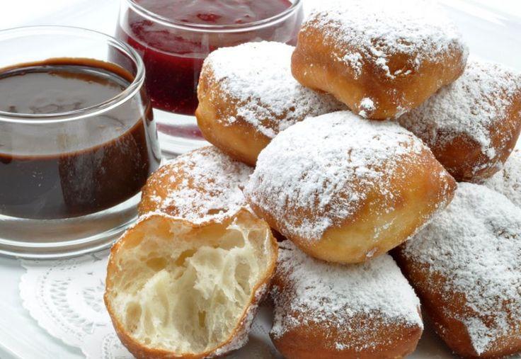 New Orleans Dessert Beignet  Homemade caramels Homemade and Beignets on Pinterest
