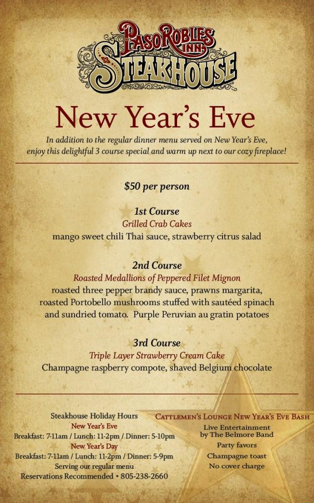 New Year Day Dinner Menu  14 Best s of New Restaurant Menu Ideas Restaurant