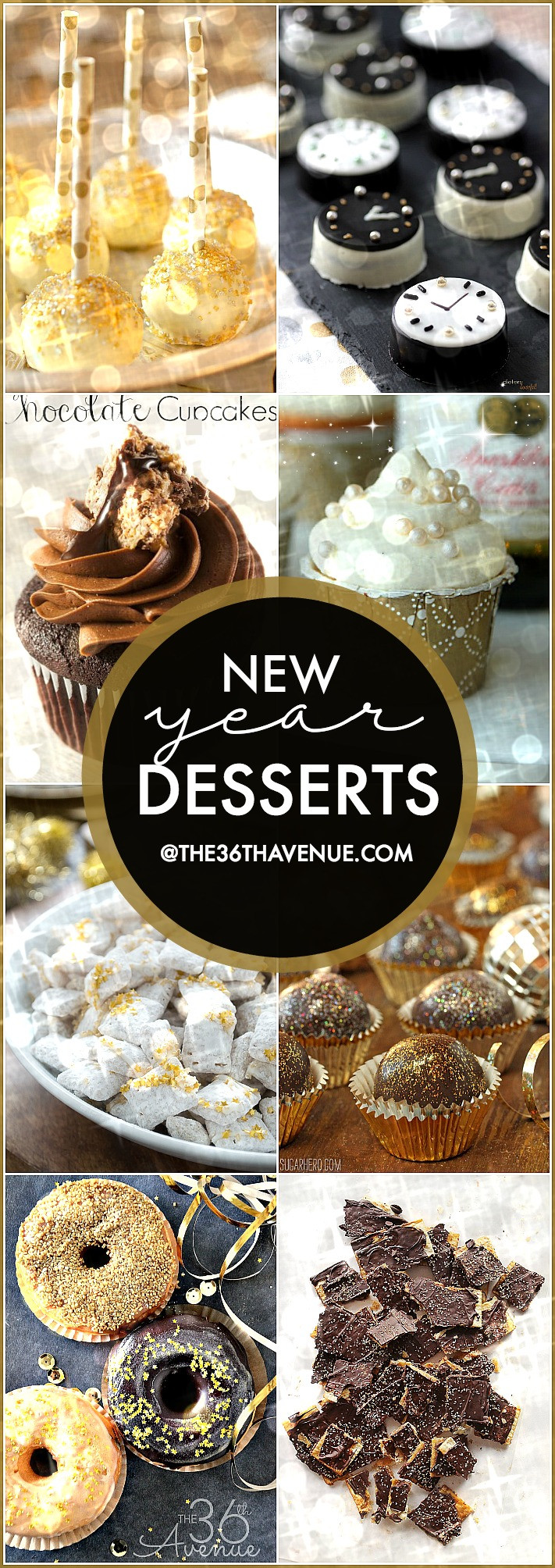 New Year Eve Dessert Recipes  New Year Desserts The 36th AVENUE