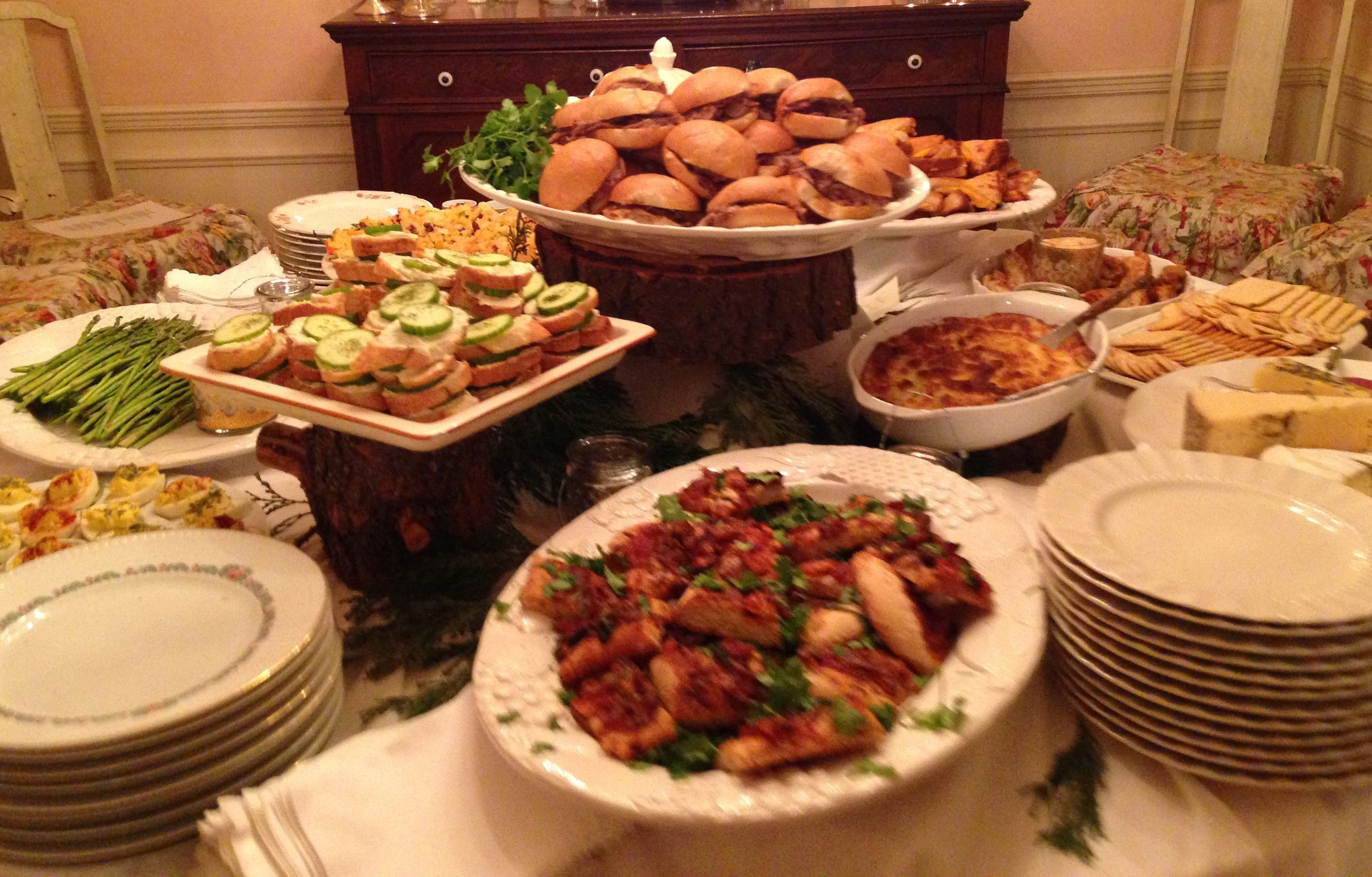 New Years Day Dinner Ideas  A Buffet Is Always A Good Idea