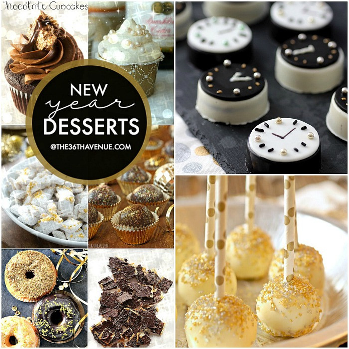 New Years Desserts  New Year Desserts The 36th AVENUE