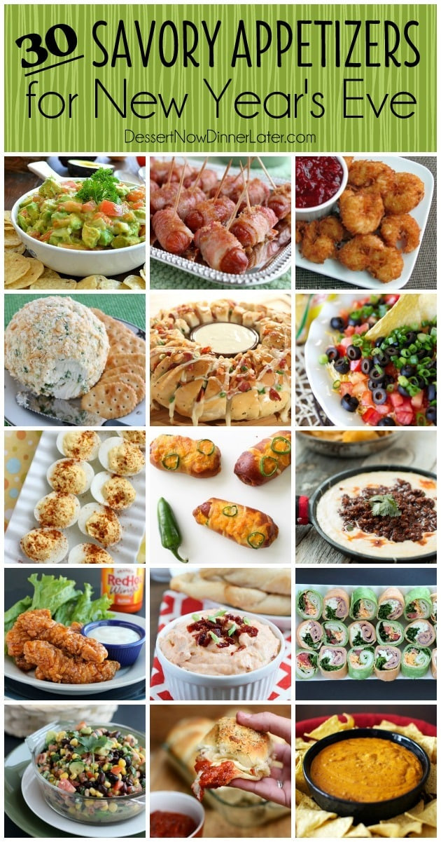 New Years Eve Party Appetizers  30 Savory Appetizers for New Year s Eve Dessert Now