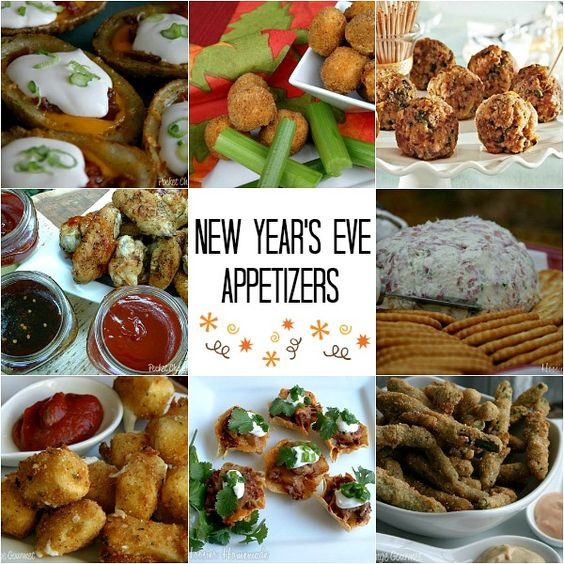 New Years Eve Party Appetizers  New year s eve appetizers Appetizer recipes and New Year
