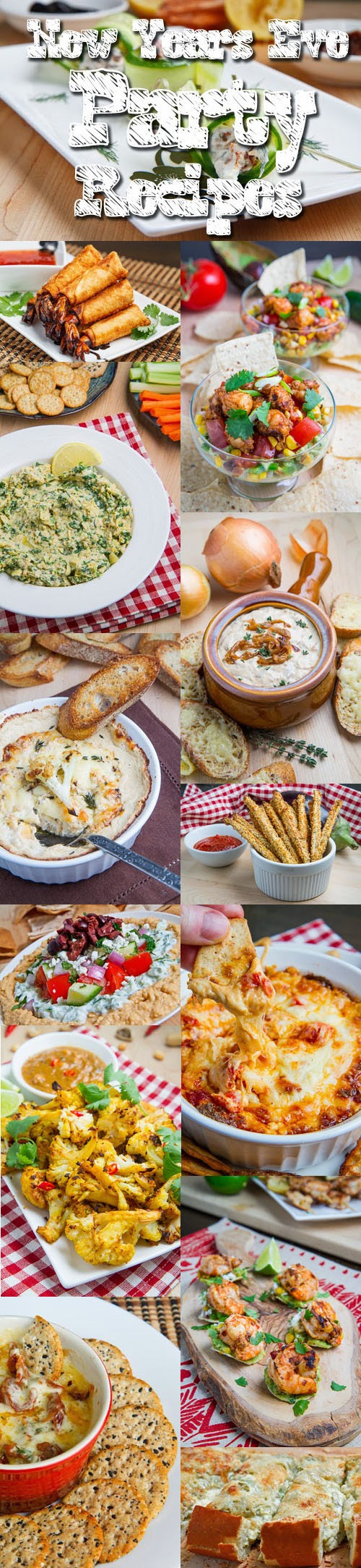 New Years Eve Party Appetizers  New Years Eve Party Recipes on Closet Cooking
