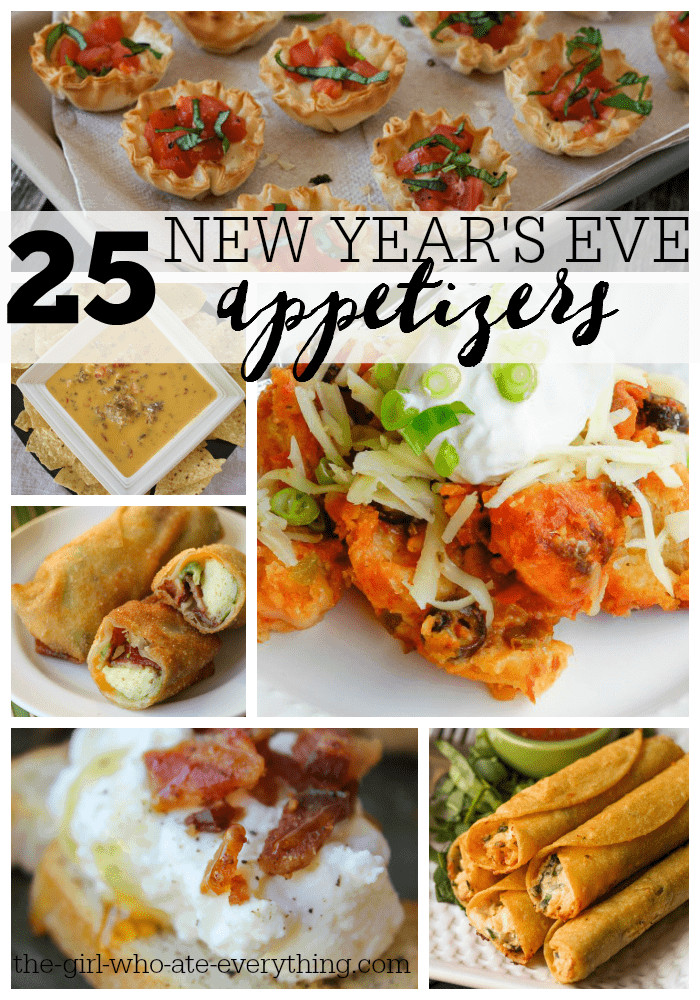 New Years Eve Party Appetizers  25 New Year s Eve Appetizers The Girl Who Ate Everything