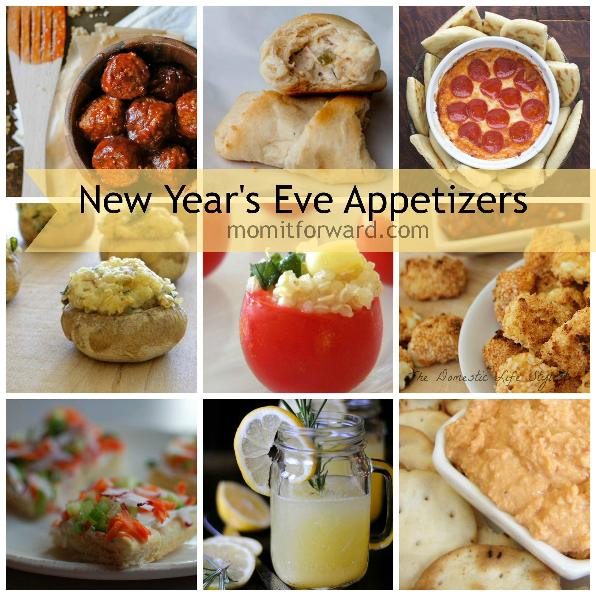 New Years Eve Party Appetizers  New Year s Eve Appetizers Mom it Forward