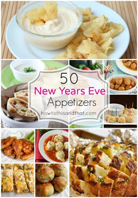 New Years Eve Party Appetizers  50 Must Serve New Year s Eve Appetizers & Party Food