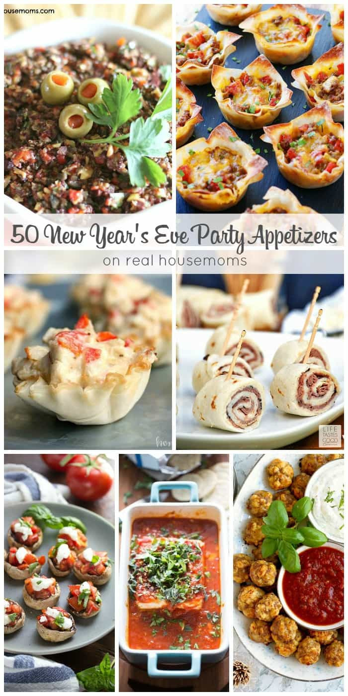 New Years Eve Party Appetizers  50 New Year s Eve Party Appetizers ⋆ Real Housemoms
