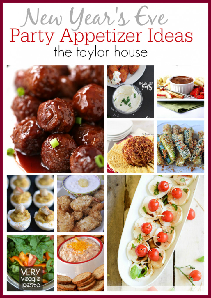 New Years Eve Party Appetizers  New Years Eve Appetizer Ideas The Taylor House