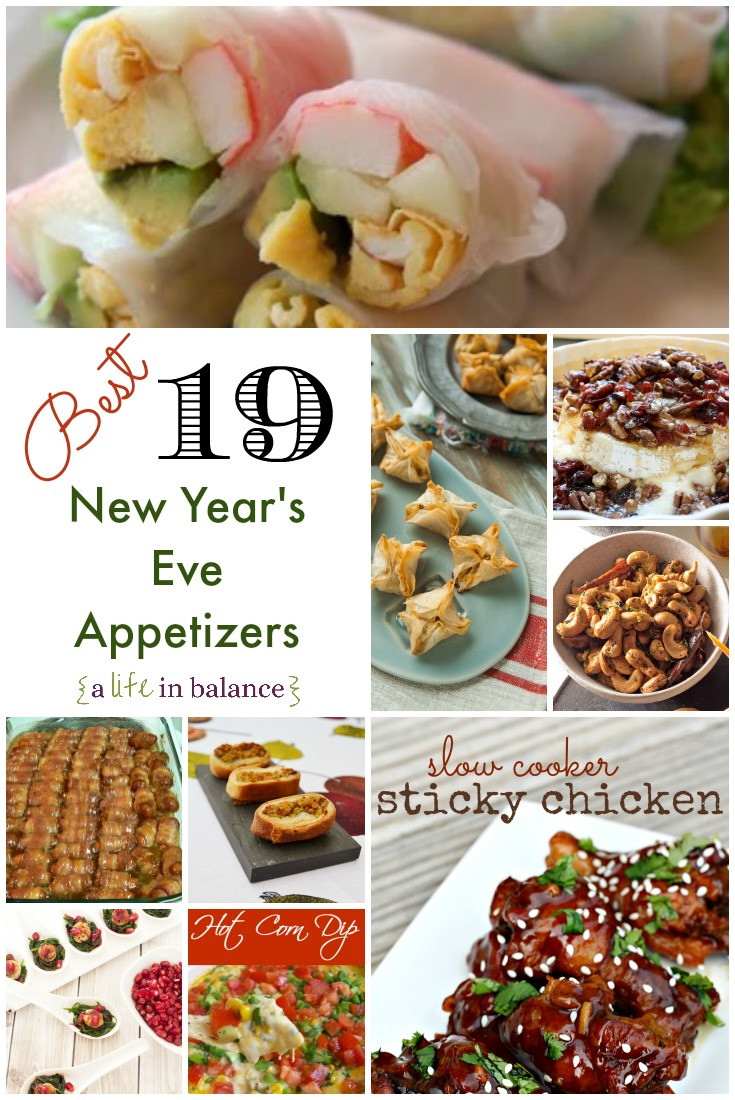 New Years Eve Party Appetizers  19 Best New Year s Eve Appetizers