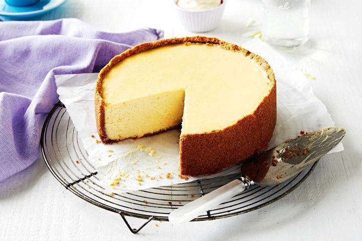 New York Cheese Cake  The perfect baked New York cheesecake
