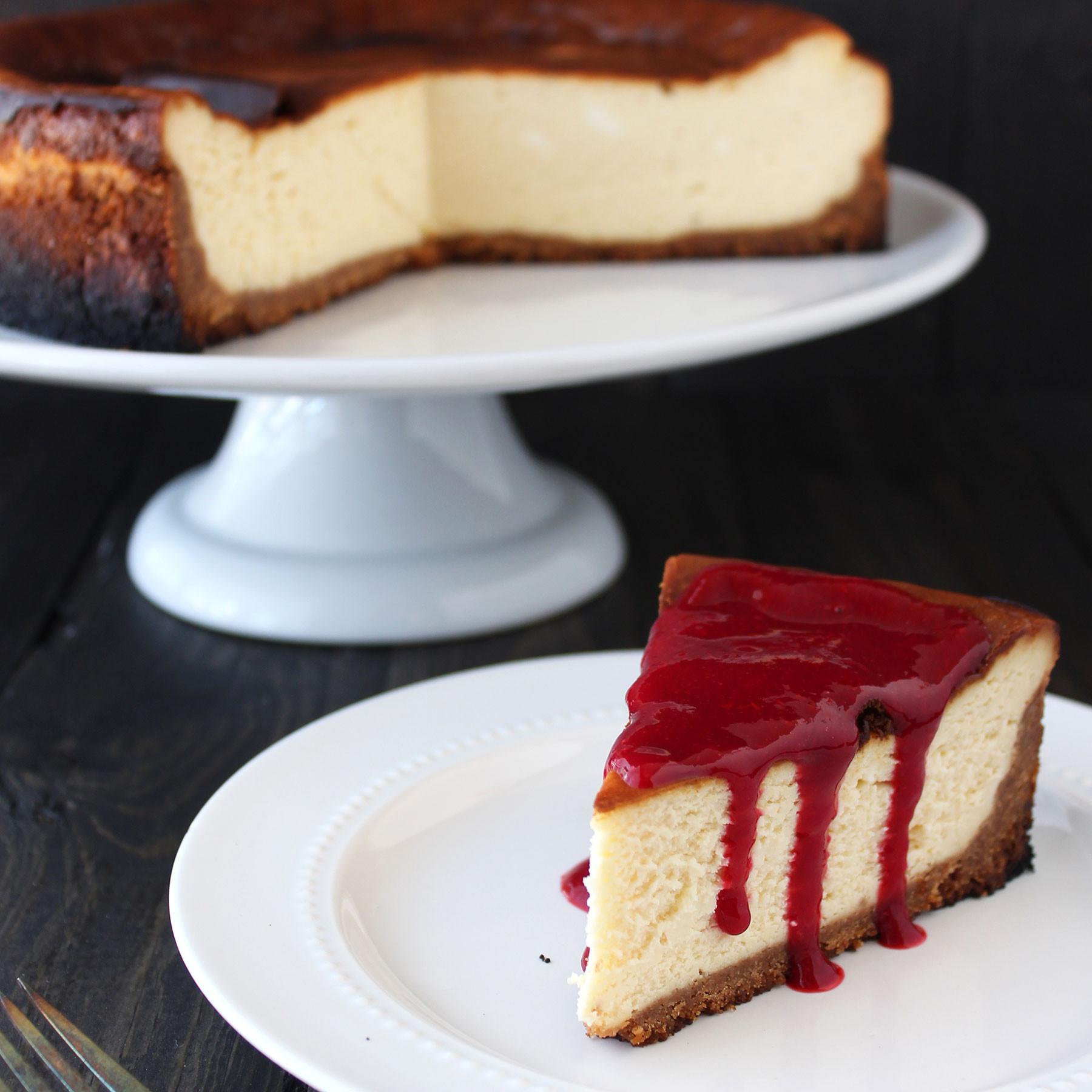 New York Cheese Cake  How to Make Perfect New York Cheesecake Handle the Heat