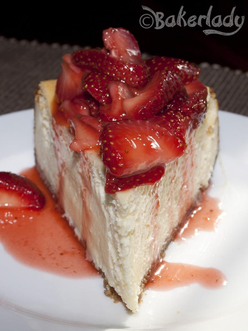 New York Cheese Cake  New York Cheesecake – Bakerlady