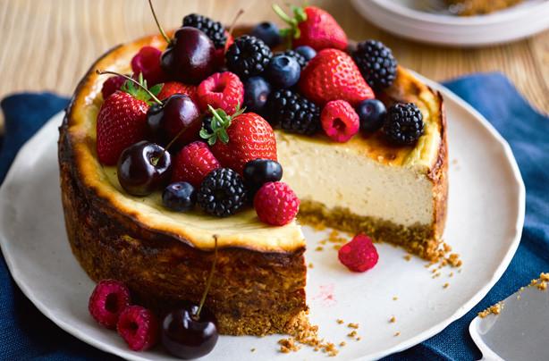 New York Cheese Cake  Lightest ever New York cheesecake recipe goodtoknow
