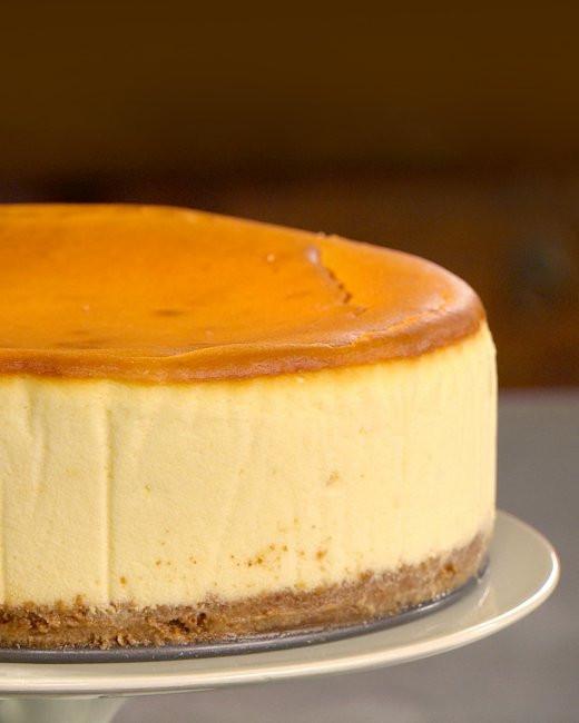 New York Cheese Cake  New York Style Cheesecake Recipe