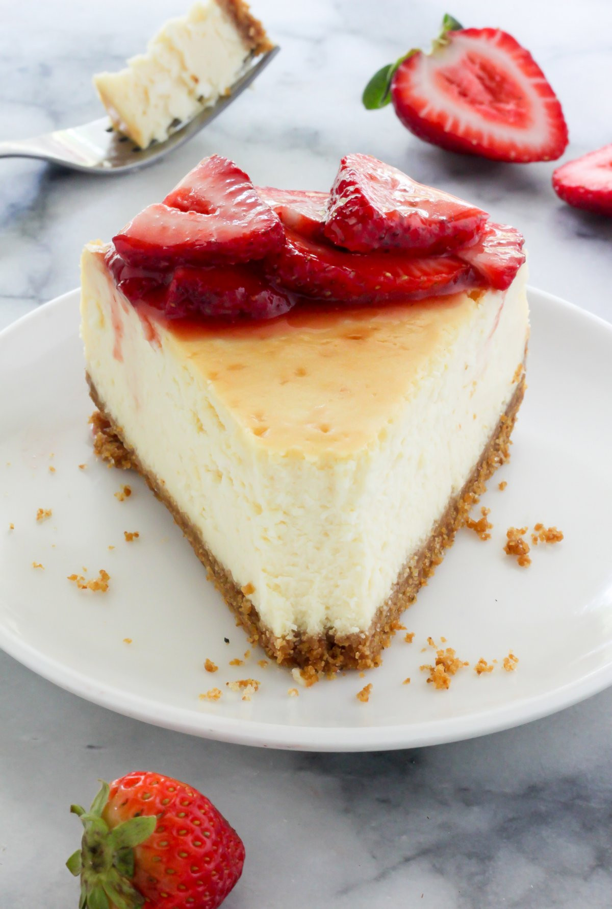 New York Cheese Cake  The Best New York Style Cheesecake Baker by Nature