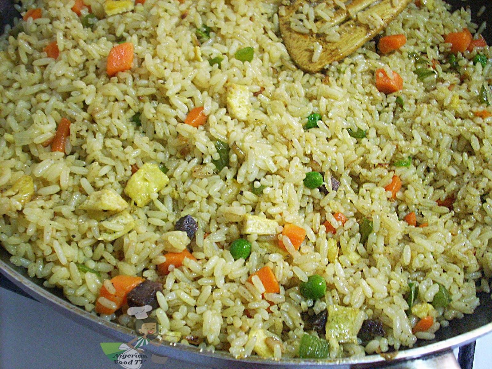 Nigerian Fried Rice  Nigerian Egg Fried Rice