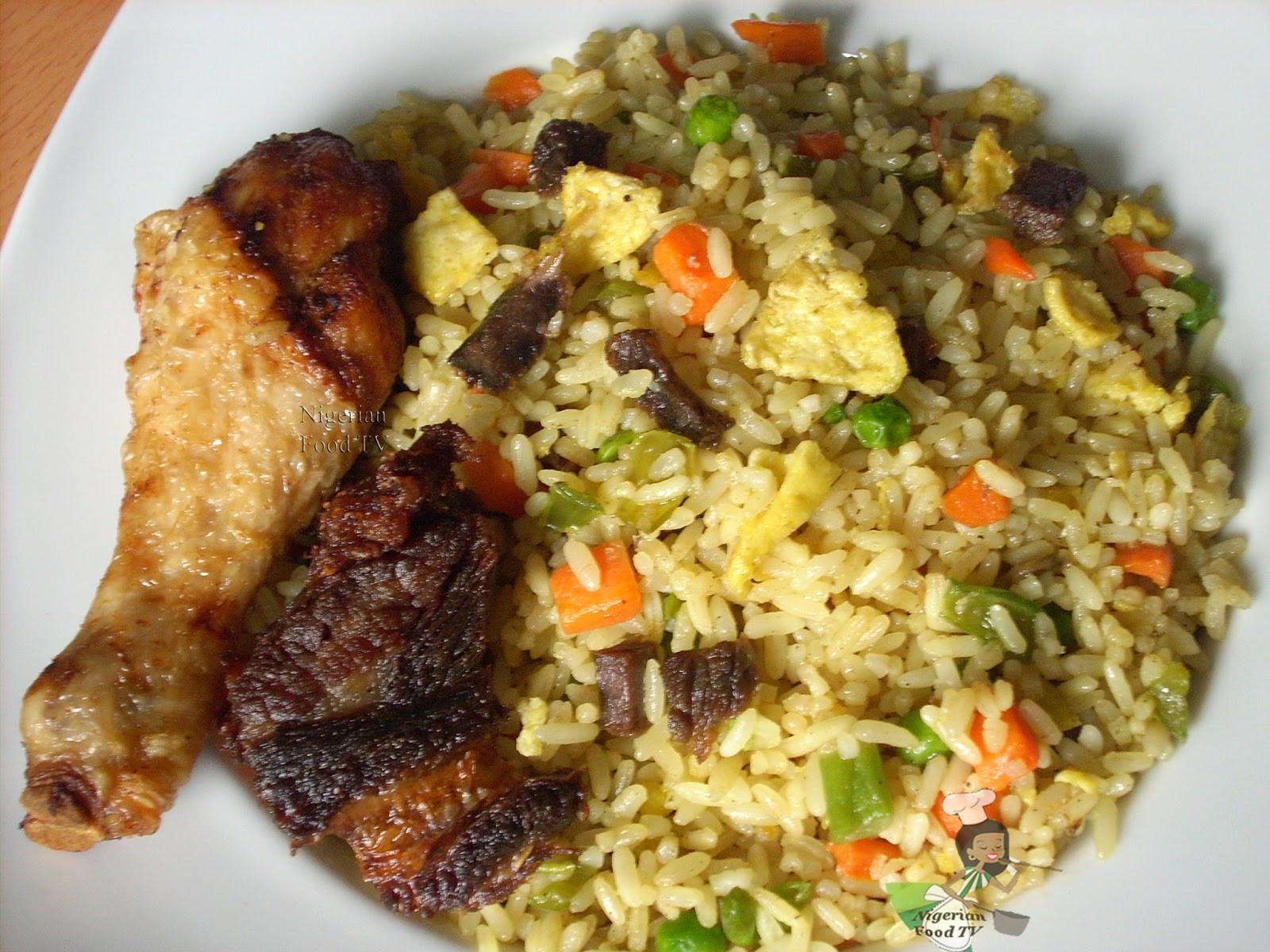 Nigerian Fried Rice  Nigerian Fried Rice How to Cook Nigerian Fried Rice