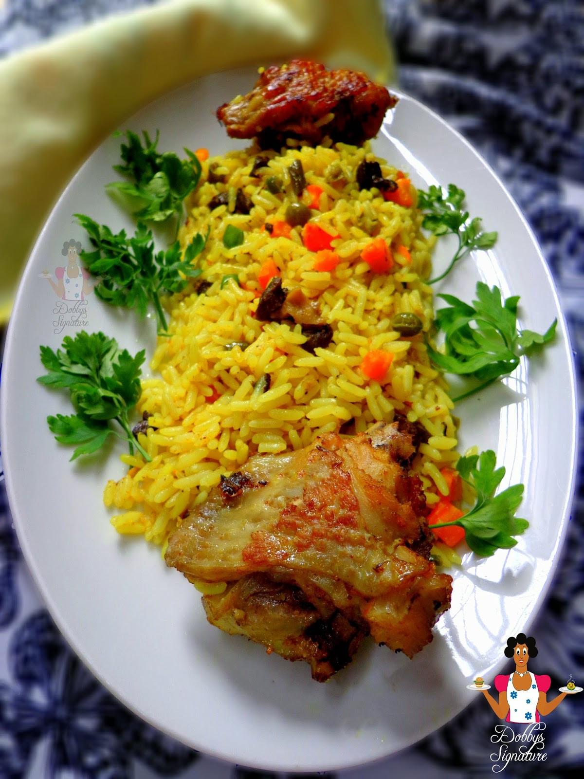 Nigerian Fried Rice  Dobbys Signature Nigerian Food Blog I Nigerian Food