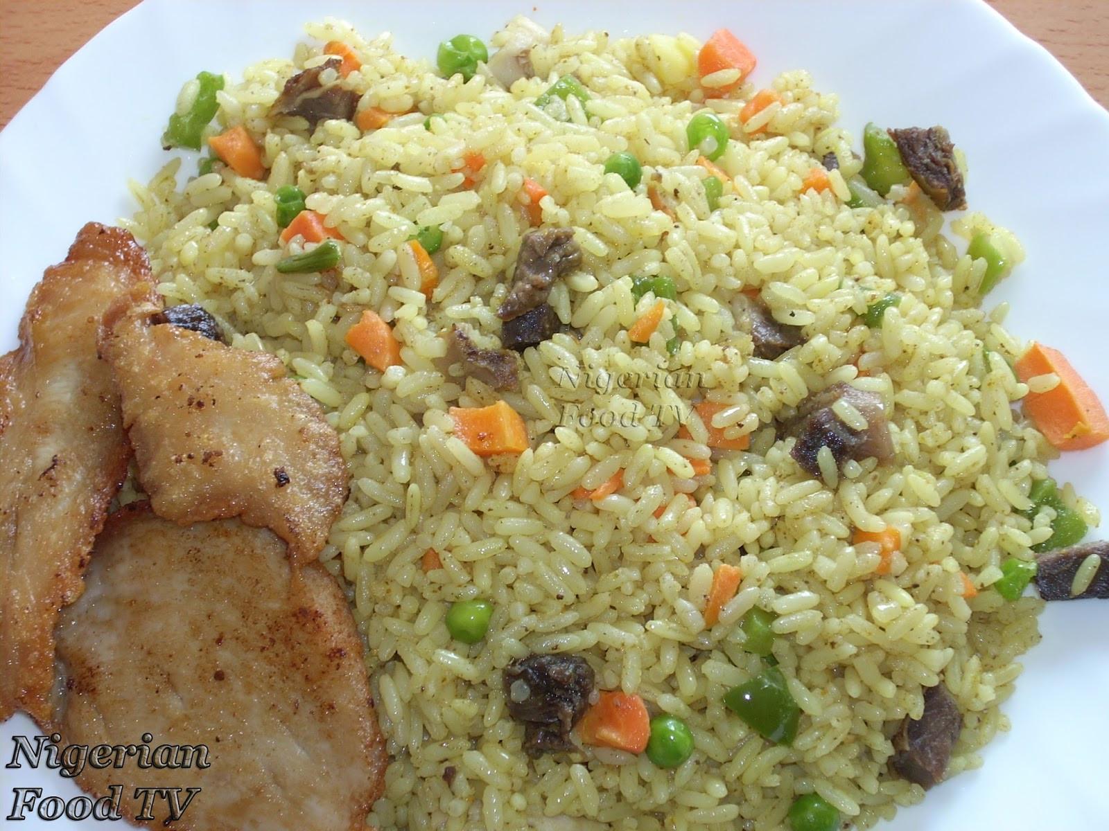 Nigerian Fried Rice  Nigerian Food Recipes