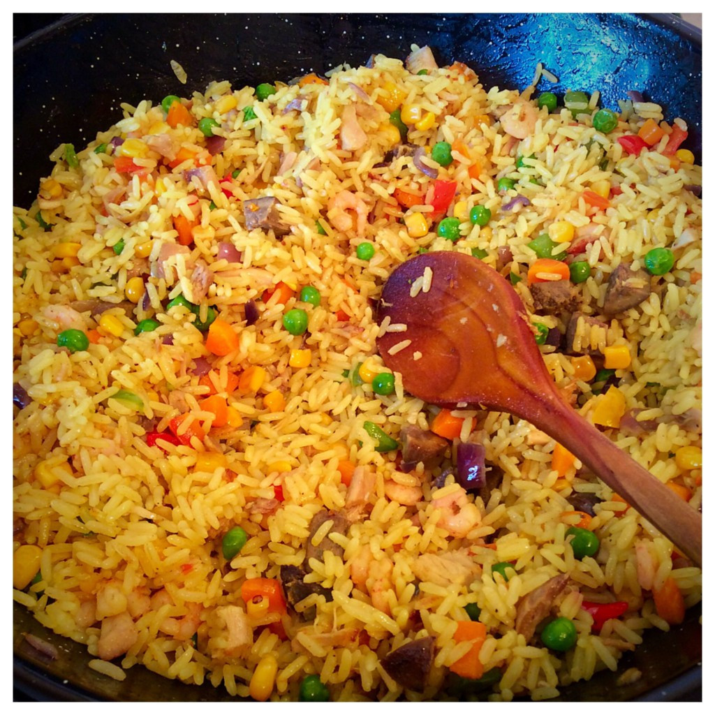 Nigerian Fried Rice  Nigerian Fried Rice…Double Fried – African Recipes