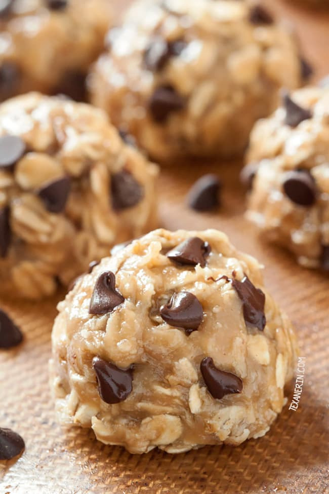 No Bake Chocolate Chip Cookies  34 No Bake Desserts The Cookie Rookie
