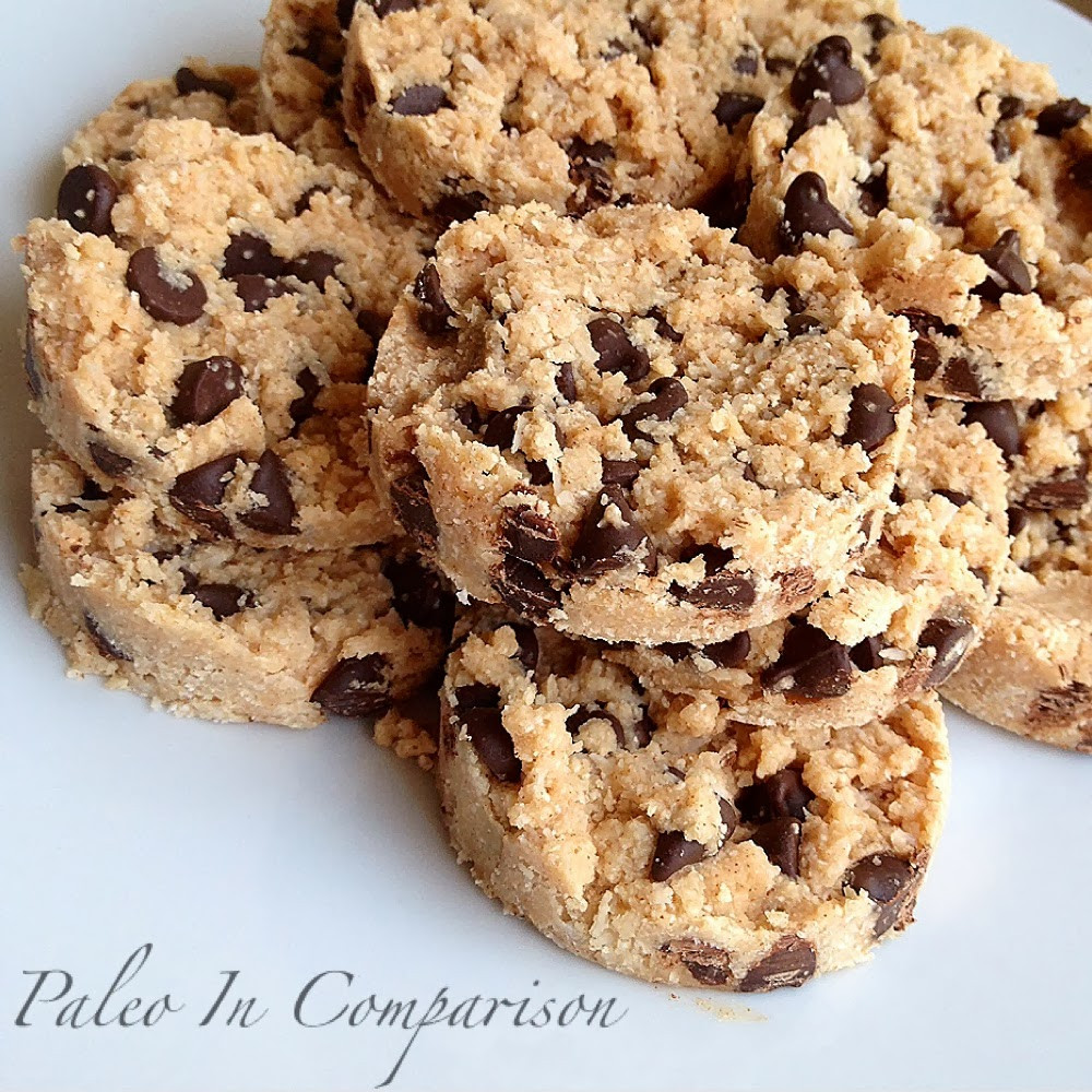 No Bake Chocolate Chip Cookies  Paleo In parison Chocolate Chip Coconut No Bake