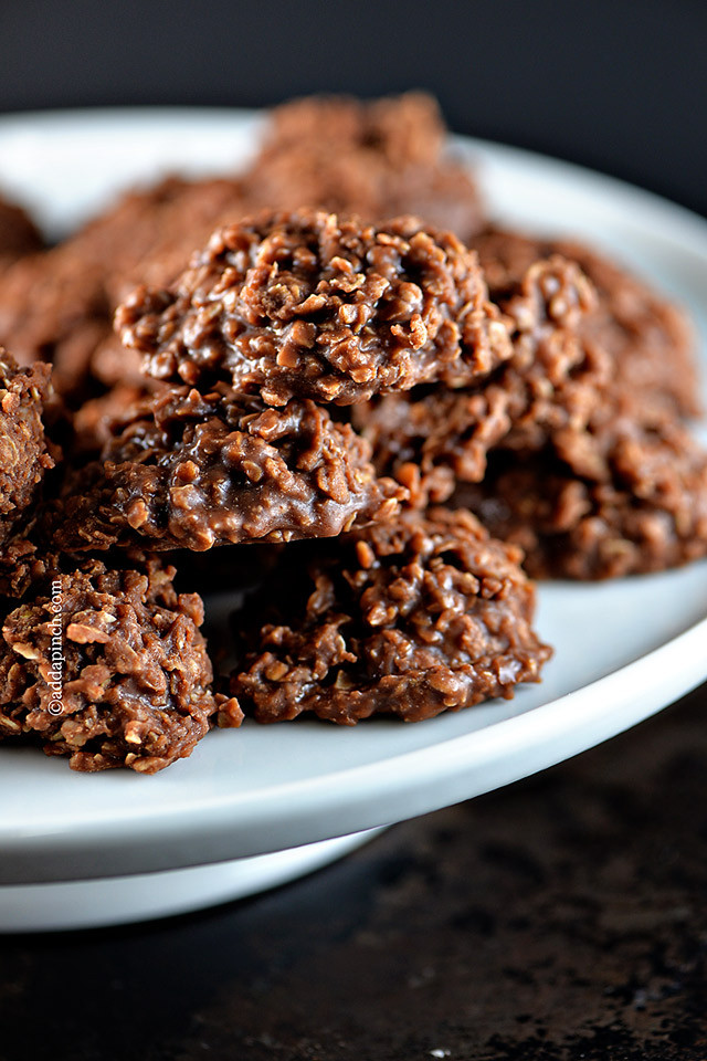 No Bake Cookies  no bake cookie recipes with oatmeal