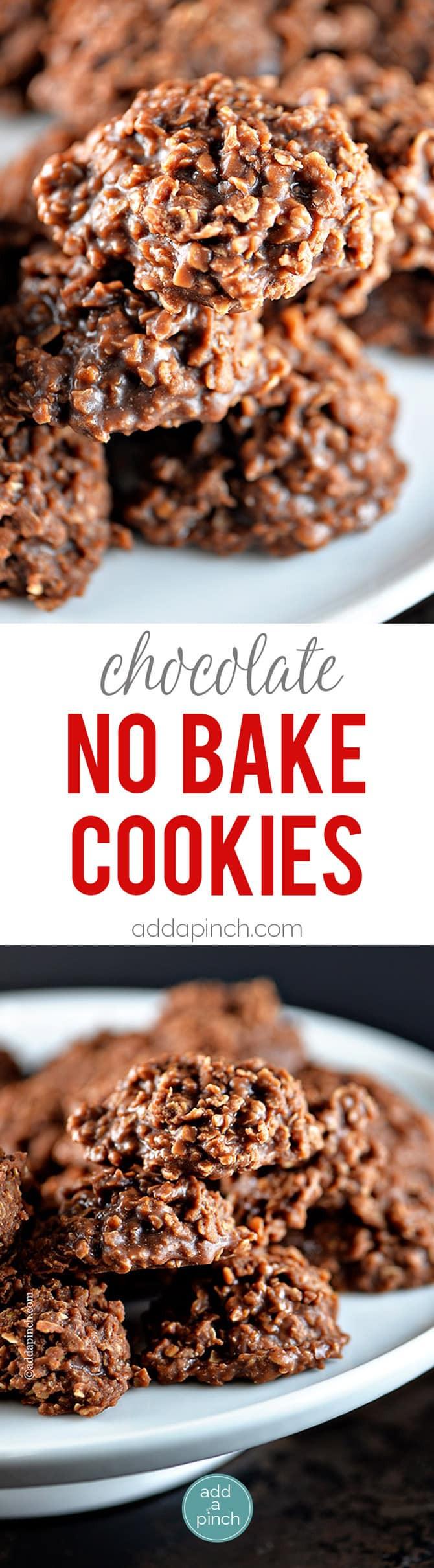 No Bake Cookies Recipes  Chocolate No Bake Cookies Recipe Add a Pinch