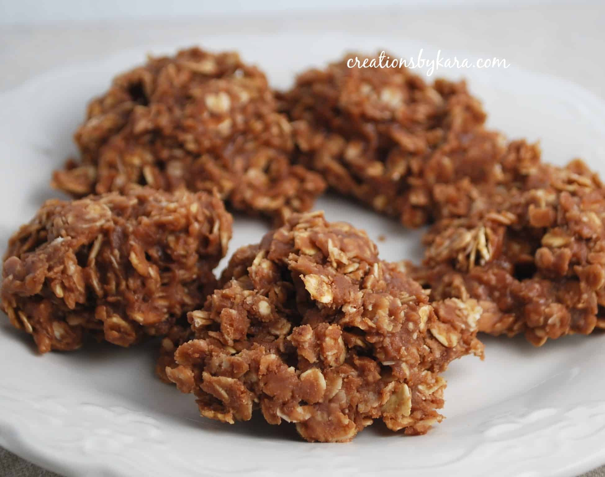 No Bake Cookies  No Bake Cookies