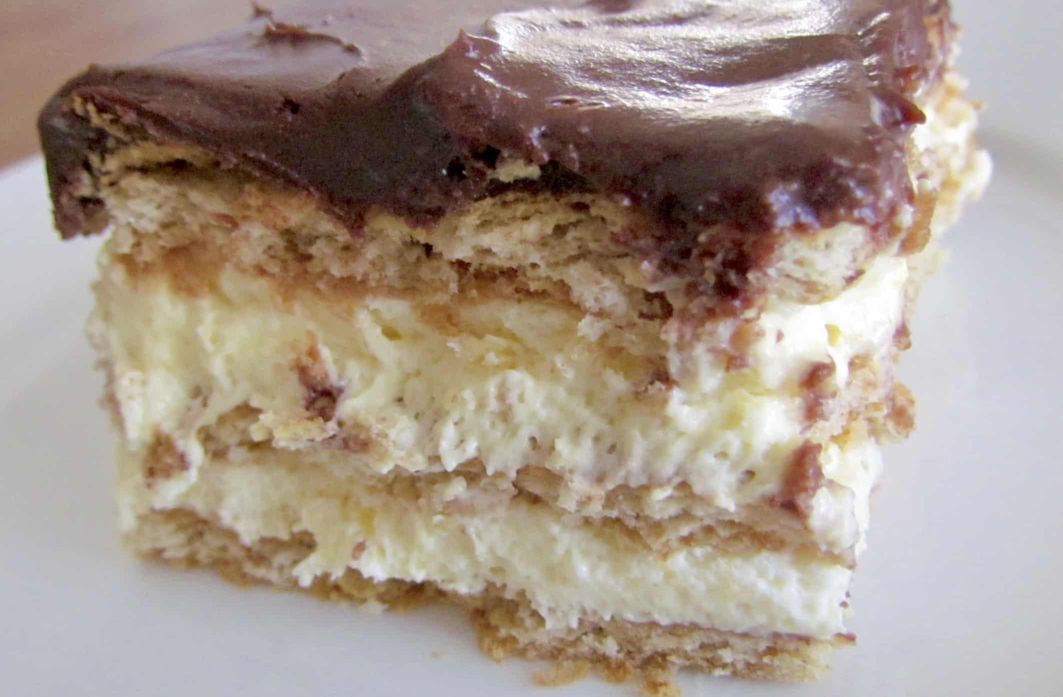 No Bake Eclair Dessert  No Bake Eclair Cake The Country Cook