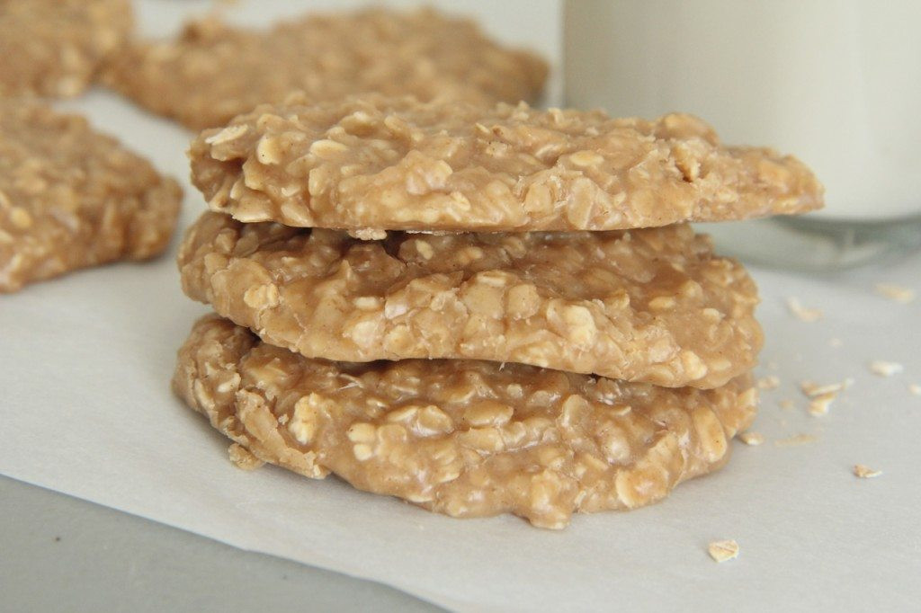 No Bake Oatmeal Cookies Without Peanut Butter  Old Fashioned Peanut Butter No Bake Cookies