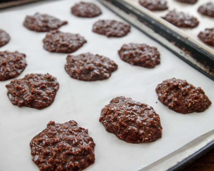 No Bake Oatmeal Cookies Without Peanut Butter  how to make peanut butter no bake cookies without oats