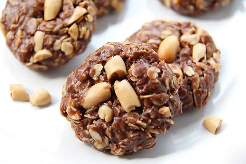 No Bake Oatmeal Cookies Without Peanut Butter  No Bake Peanut Butter Chocolate Oat Cookies VIDEO