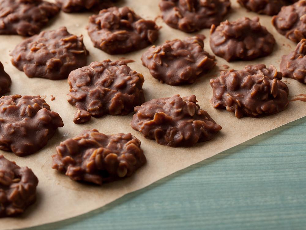 No Bake Peanut Butter Oatmeal Cookies  Wake N No Bake Chocolate Peanut Butter Canna Cookies