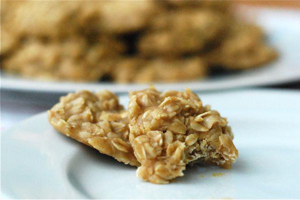 No Bake Peanut Butter Oatmeal Cookies  No Bake White Chocolate Peanut Butter Oatmeal Cookies