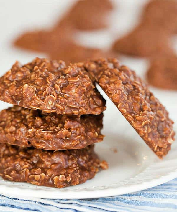 No Bake Peanut Butter Oatmeal Cookies  Easy No Bake Cookie Recipe