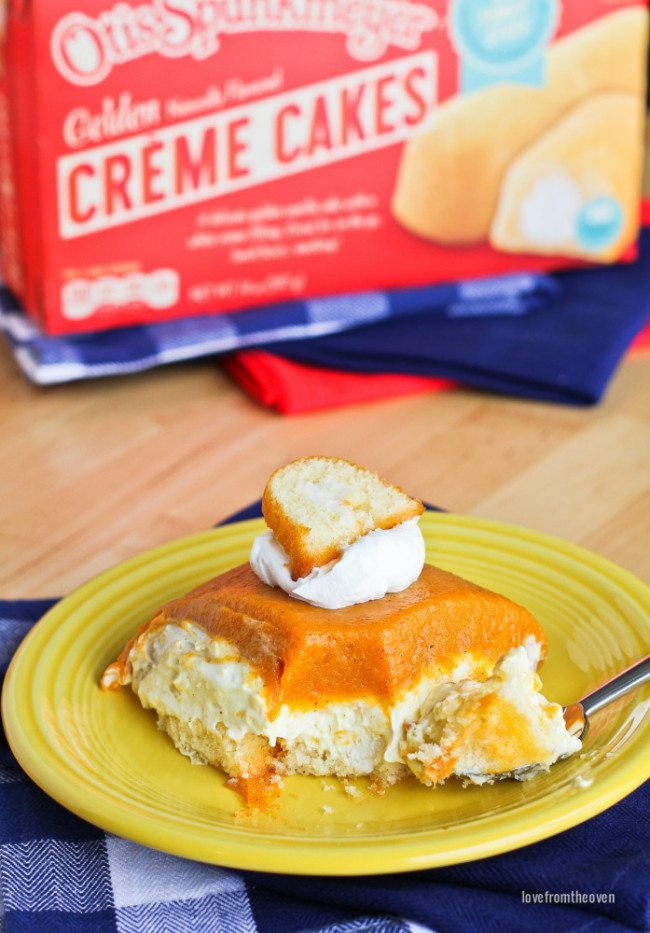 No Bake Pumpkin Desserts  No Bake Pumpkin Dessert Love From The Oven