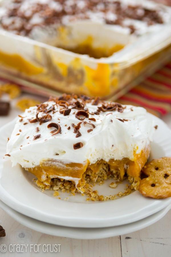 No Bake Pumpkin Desserts  No Bake Pumpkin Dessert Crazy for Crust