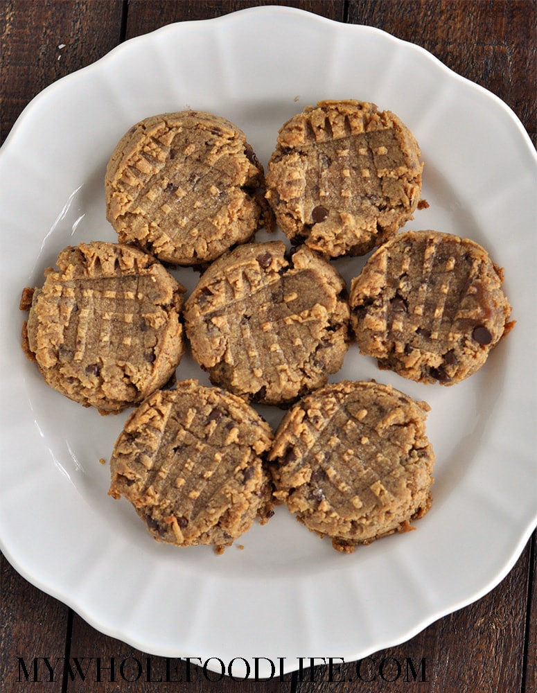 No Butter Cookies  Peanut Butter Cookies No Added Sugar My Whole Food Life