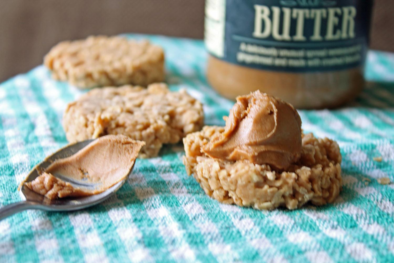 No Butter Cookies  No Bake Cookie Butter Lover Cookies