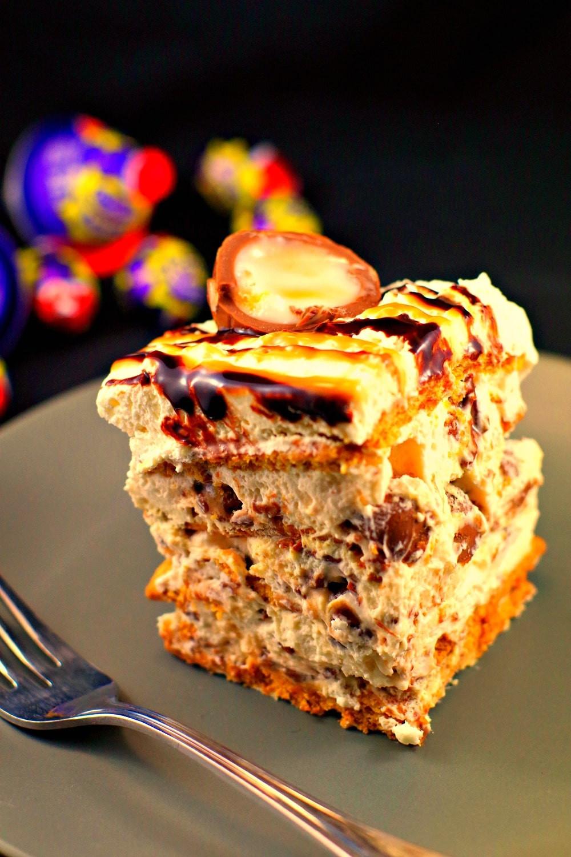 No Egg Desserts  Easter cream egg icebox cake